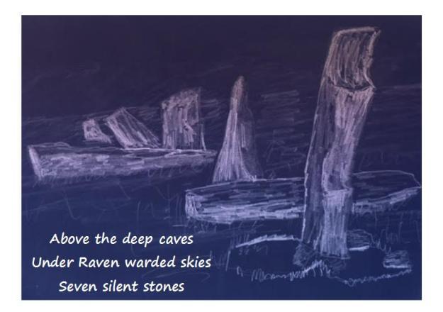 saith maen haiku 1